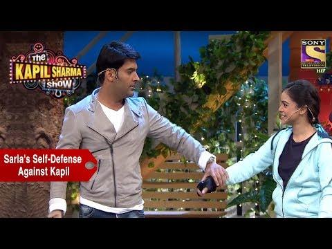 Sarla Uses Self-Defense Against Kapil - The Kapil Sharma Show