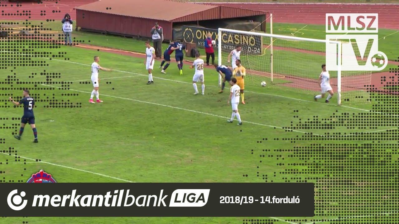 Nyíregyháza Spartacus FC - Duna Aszfalt TVSE | 3-3 (2-2) | Merkantil Bank Liga NB II.| 14. forduló |