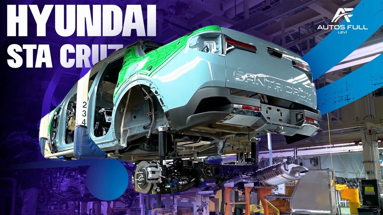 Así se hace el Nuevo Hyundai Santa Cruz