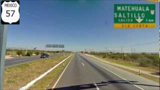 San Luis Potosi MX57 Carretera a Mexico ...