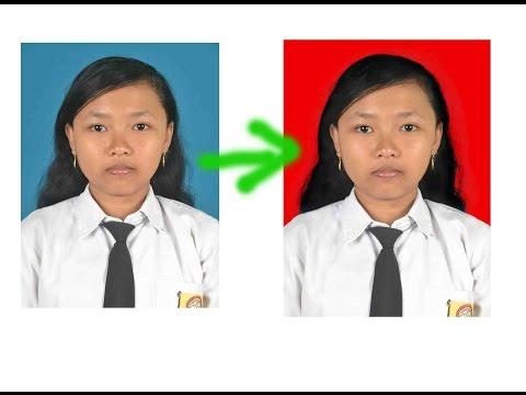 Cara Mengganti Background Pas Foto Tanpa Menghilangkan Detail Rambut