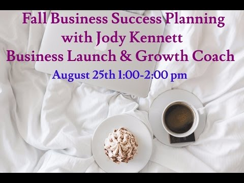 Entrepreneur Fall Business Success Planning!