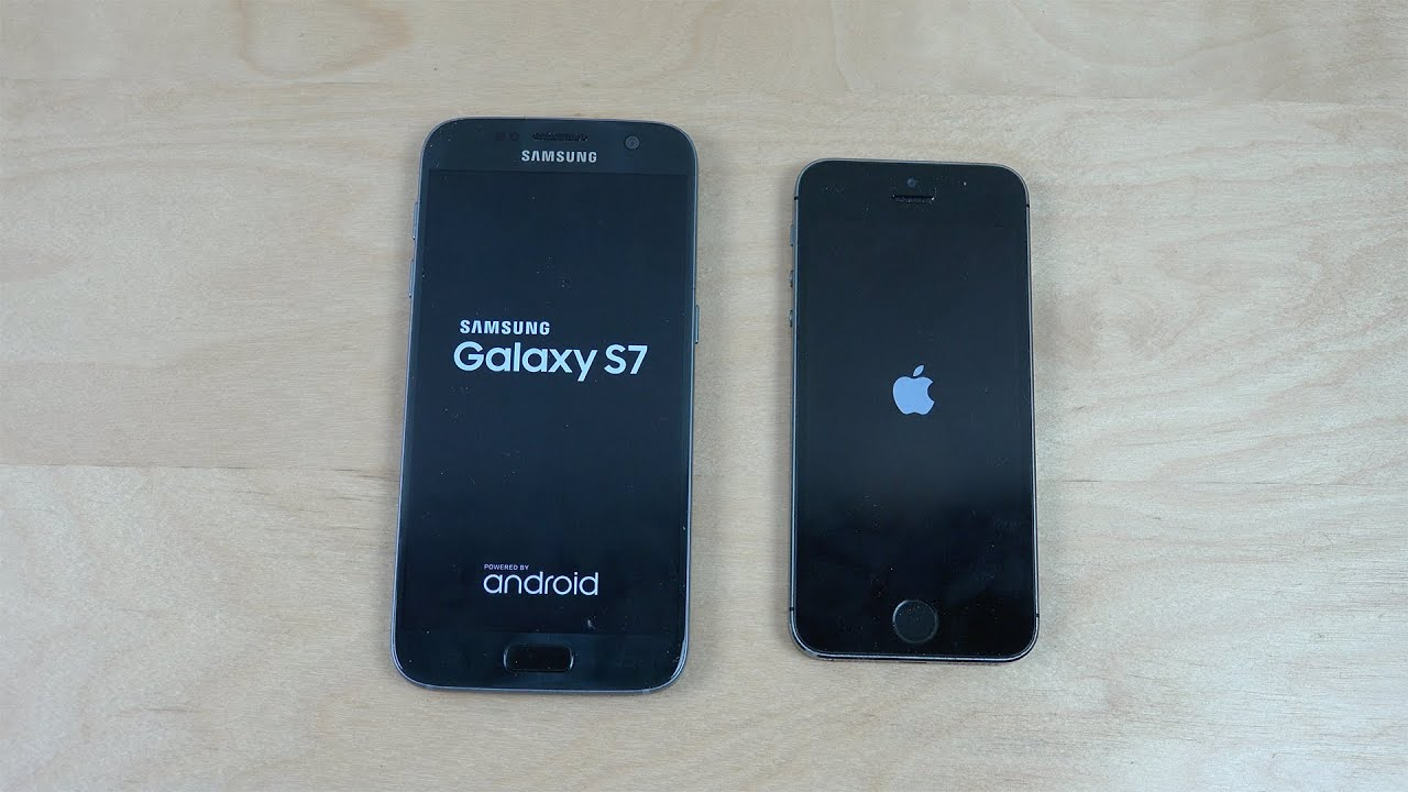 Samsung Galaxy S7 vs. iPhone 5S - Speed Test! - YouTube 9fe6ff996d9