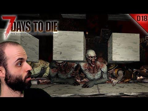 7 DAYS TO DIE #D18 | UNA DEFENSA BRUTAL | Gameplay Español