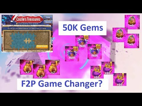 GAME CHANGING EVENTS For F2P UPGRADED Pirate BOOTY Castle Clash