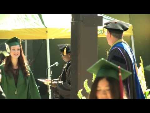 2013 Summer Commencement at the University of Oregon