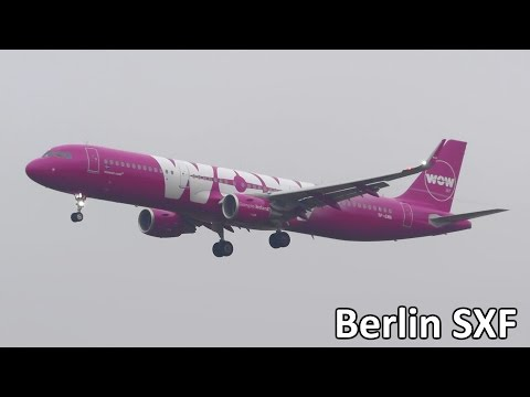 15+ Minutes Planespotting at Berlin Schönefeld Airport (SXF) - Awesome Low Cost Variety!