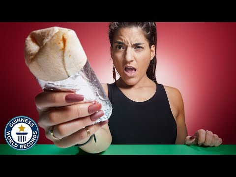 fastest-time-to-eat-a-burrito!---guinness-world-records