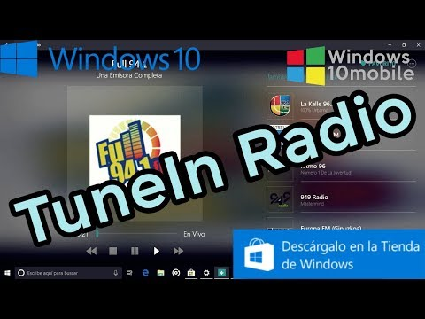 Descargar TuneIn Radio Para Windows 10