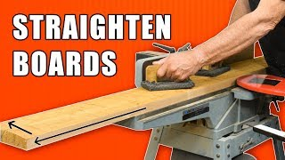 Tips to Straighten Boards and Squaring Lumber