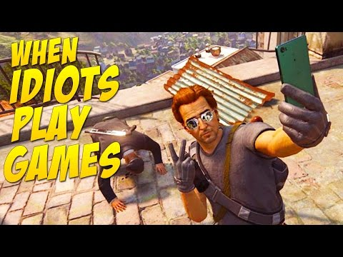 Let Me Take A Selfie (When Idiots Play Games #9)