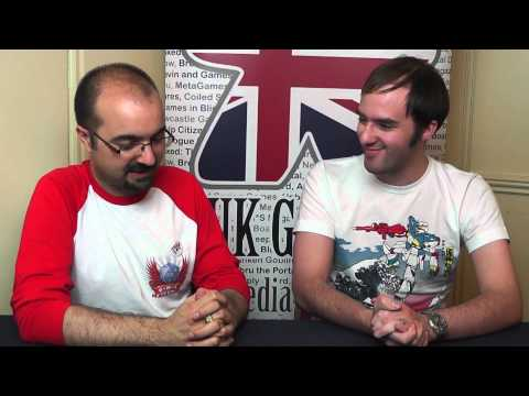Interview with Samuel James Richard III from Tweet RPG at the UK Games Expo
