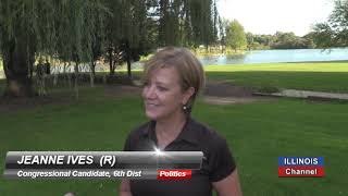 Catching Up with 6th Dist Congressional Candidate, Jeanne Ives (R)