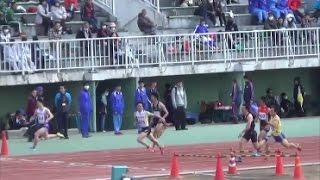 第26回群馬大学競技会2017.4.2 男子100m4組