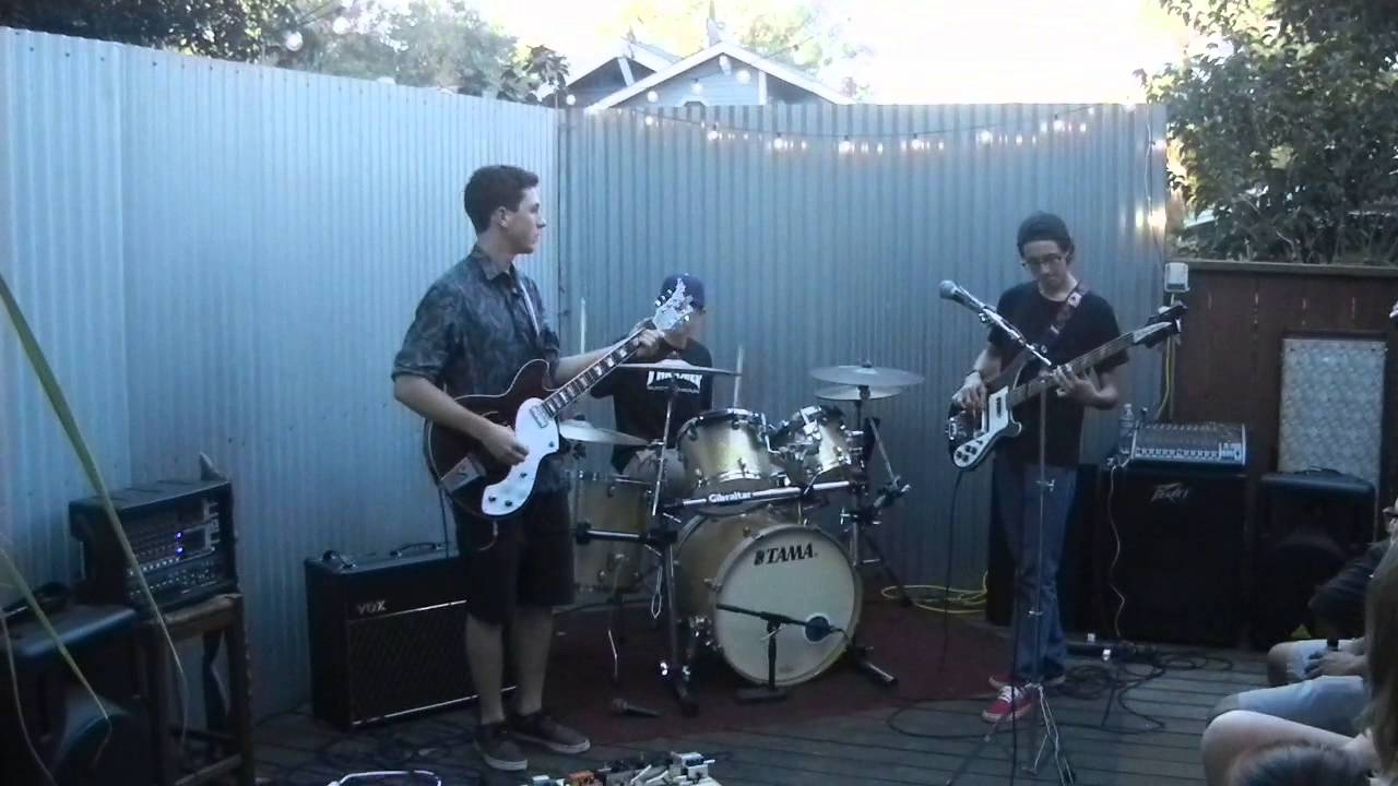 Backyard band. Local Youth Rock band Highland park - YouTube