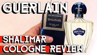 GUERLAIN SHALIMAR EAU DE COLOGNE unboxing and review