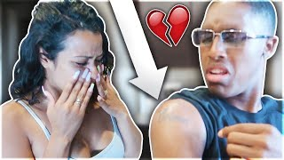 I REGRET Getting Your Name Tatted PRANK!! **She got emotional**