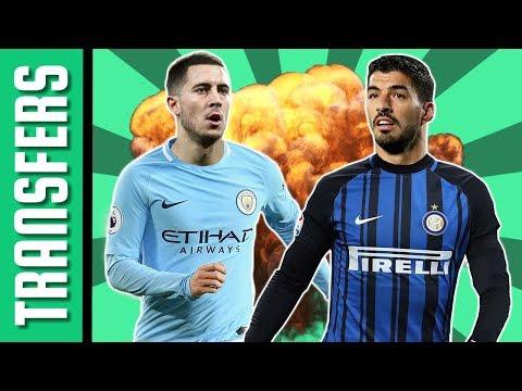 Eden Hazard a Man. City-ben? Luis Suárezzel erősítene az Inter! | Átigazolási hírek