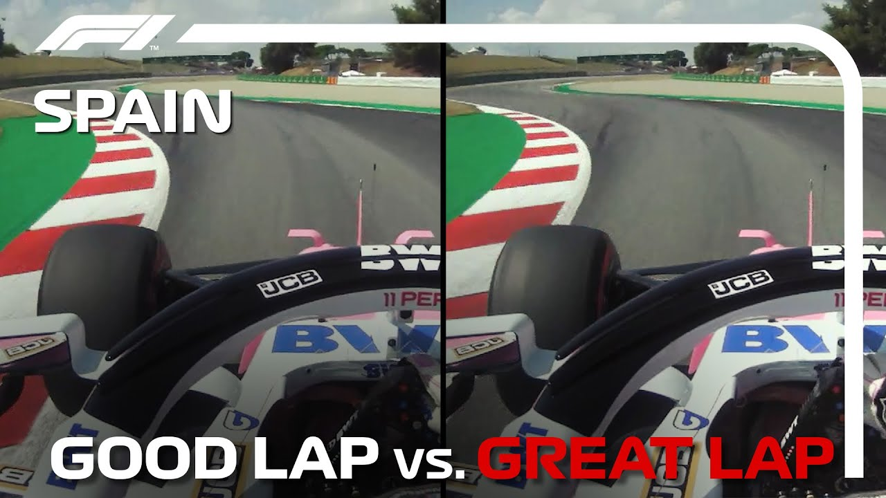 Good Lap vs. Great Lap, with Sergio Perez | Spanish Grand Prix