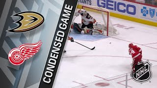 02/13/18 Condensed Game: Ducks @ Red Wings