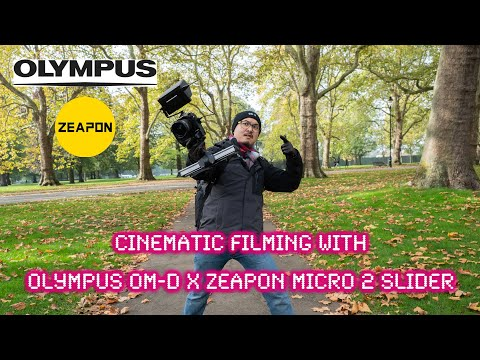 Cinematic filming with Olympus OM-D & Zeapon Micro 2 Slider - RED35 Review