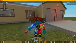 Fire and security alarm test on Roblox