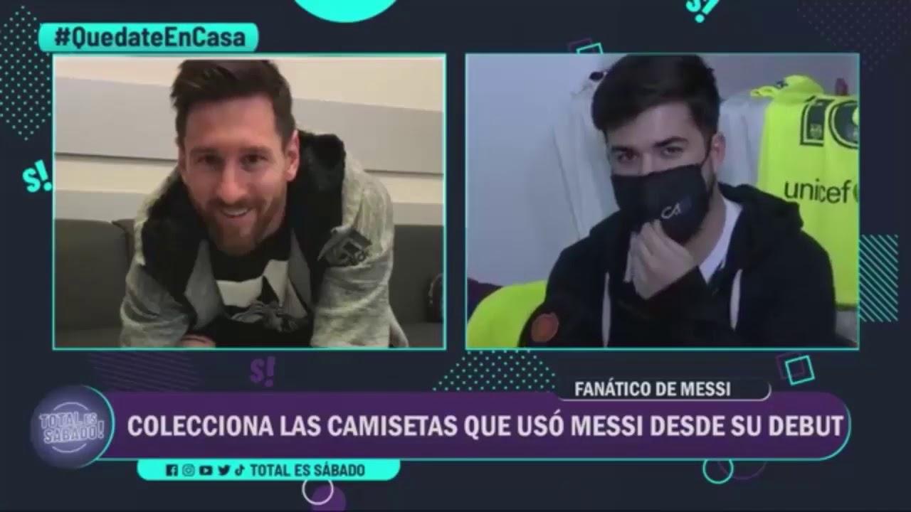 El mayor coleccionista de Leo Messi