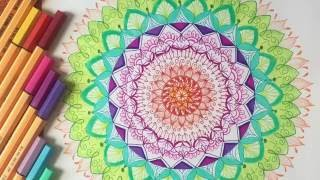 How to draw Mandalas (For Beginners)