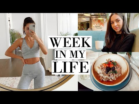 WEEKLY VLOG | INTENSE BOOTY WORKOUT & FIRST EVENT OF THE YEAR
