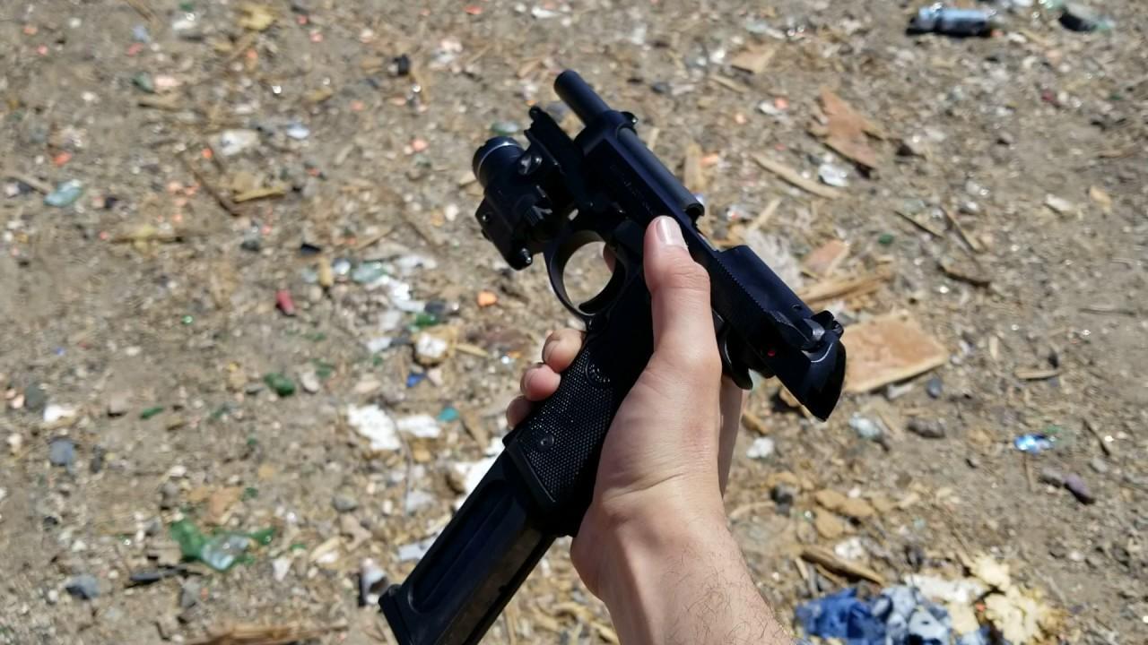California legal 30-round handgun magazine for M9 Beretta