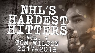 Biggest Tom Wilson Hits of 2018 NHL&#39s Hardest Hitters