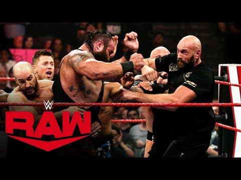 Braun Strowman and boxing champion Tyson Fury in huge brawl: Raw, Oct. 7, 2019