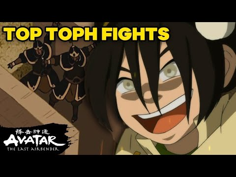 Toph's TOP Fights EVER 🦶| Avatar