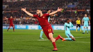 -Il Cammino della Roma in Champions League 2017/18- (Dai gironi ai quarti)