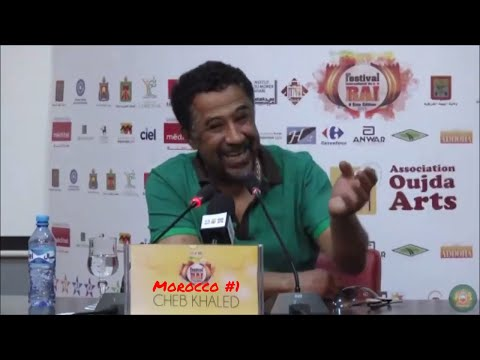 "Former Algerian CHEB KHALED: ""MOROCCO is THE BEST Country in the World!"" Complete Version HD"