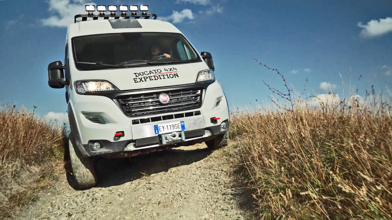 fiat ducato 4x4 expedition off road camper van. Black Bedroom Furniture Sets. Home Design Ideas
