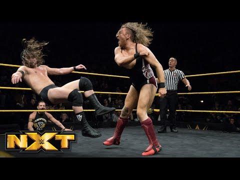 Pete Dunne vs. Adam Cole  WWE United Kingdom Championship Match: WWE NXT, March 14, 2018