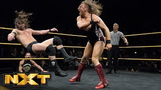 Pete Dunne vs. Adam Cole - WWE United Kingdom Championship Match: WWE NXT, March 14, 2018
