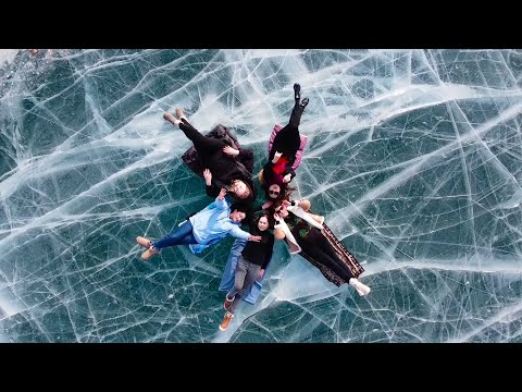 Замёрзшее озеро Ара-коль (Ара-кол)