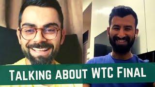 Virat Kohli & Pujara talk about WTC Final with Covert Indian   CI Edits