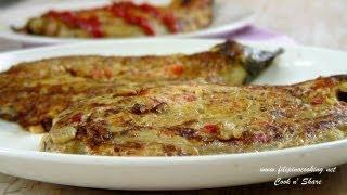 Meatless Eggplant Omelet