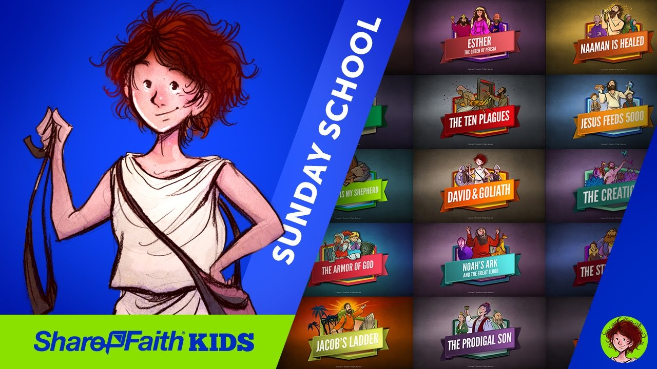Sunday School Lessons - Discover The Sunday School Lessons Of Sharefaith Kids | ShareFaith.com