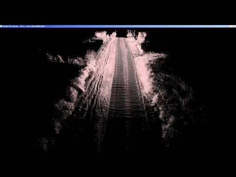 Velodyne VLP-16 LiDAR Monterey Highway SLAM Movie