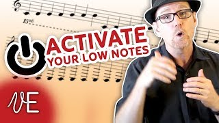 How to sing LOW NOTES with more POWER: Singing Exercises | #...