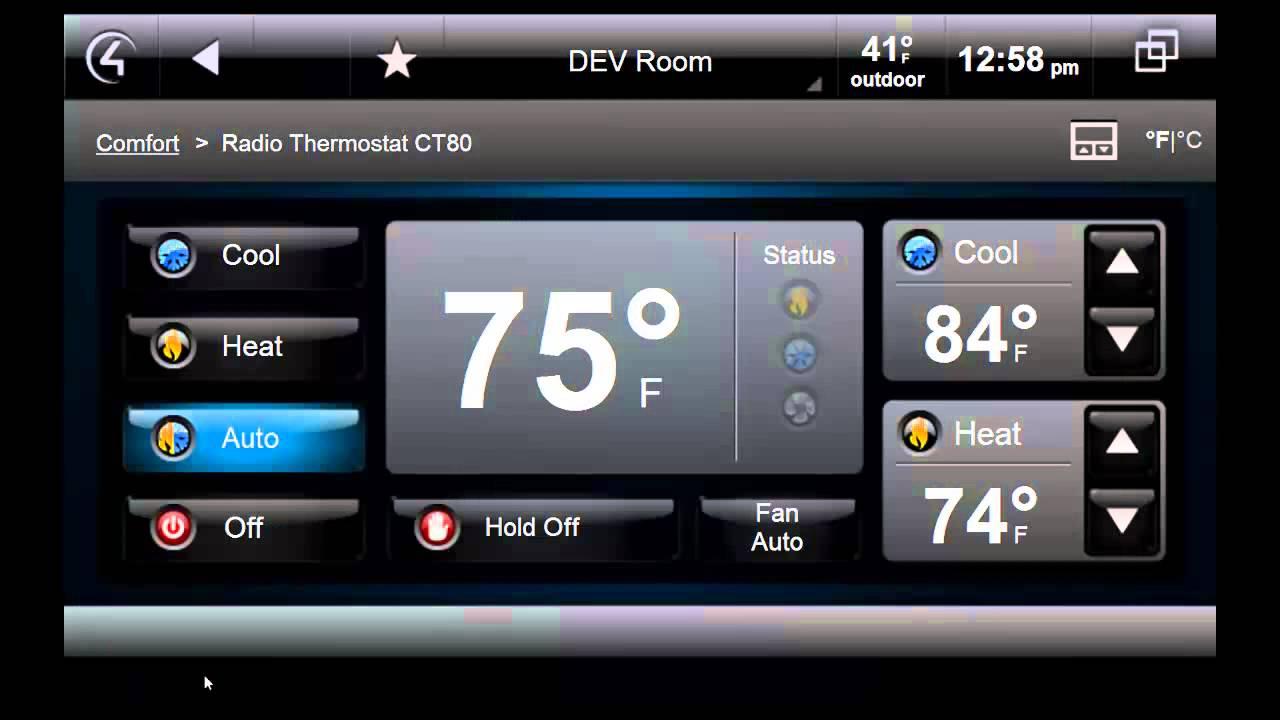 Control4 Thermostat