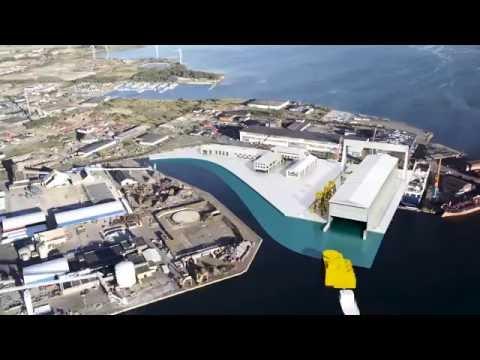 Varvsudden, heavy industry park of öresund