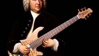 Bach Riff Transposed to G minor