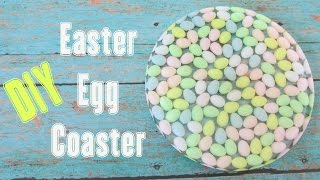 Easter Egg Coaster DIY Another Coaster Friday Craft Klatch Easter Series