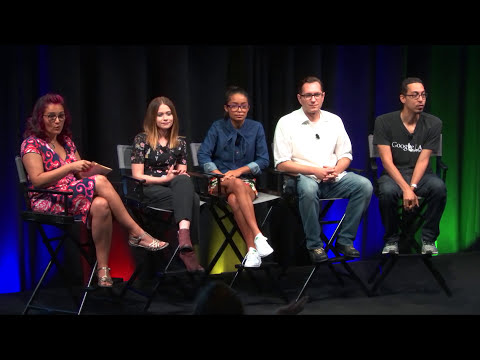 Cracking the Code: Diversity, Hollywood & STEM PANEL