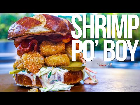 The Best Shrimp Po' Boy | SAM THE COOKING GUY 4K